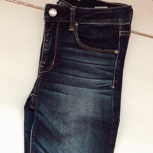 Brand new American Eagle skinny jeans dark wash